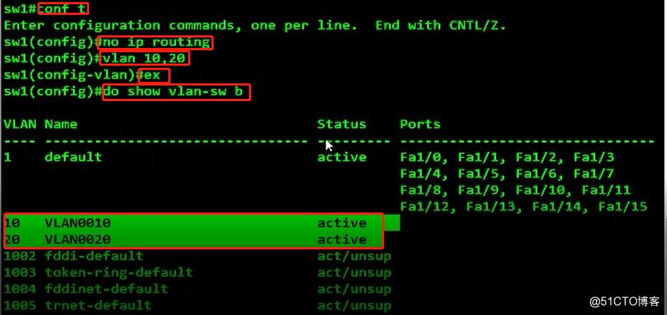 Trunk链路的配置、以太网通道的作用及实验(全程操作,可跟做!)