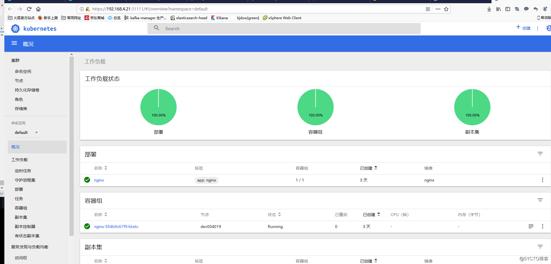 Kubernetes Dashboard可视化插件和Heapster监控组件部署(二)