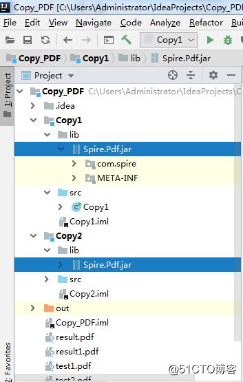 Java 復制PDF文檔