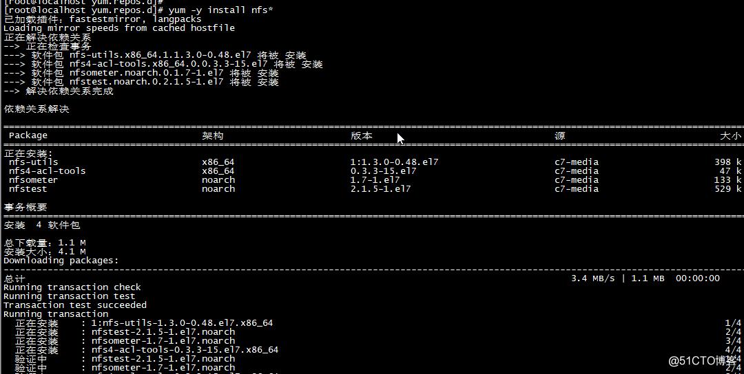 Redhat Linux 7 搭建局域网YUM