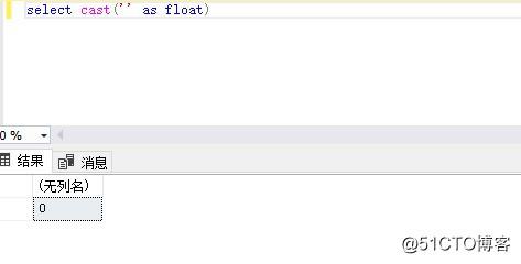 MS SQL中遇到空字符串转化数值遇到的问题