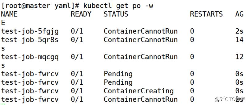 k8s的  Job/CronJob资源对象及添加api版本