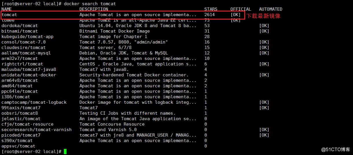 Docker 部署war包项目