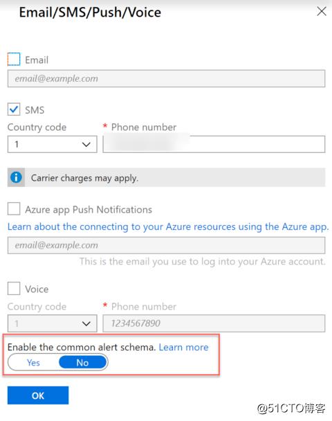 Azure Monitor Alerting
