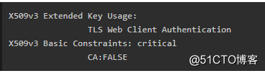 Kubernetes/K8s CFSSL 证书相关