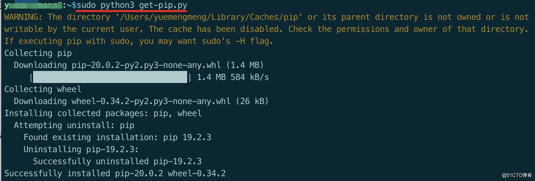 mac---pip3安装