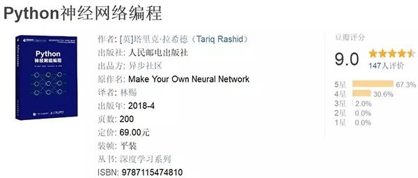 《Python神经网络编程》