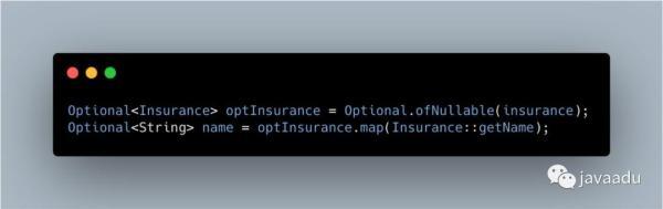 巧用Optional摆脱NullPointExcept的折磨