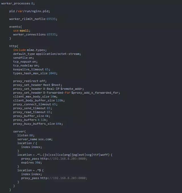 Nginx+Tomcat 动静分离实现负载均衡