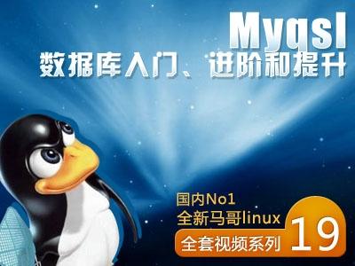 MySQL数据库入门、进阶和提升-[国内No1马哥Linux视频系列视频课程十九]