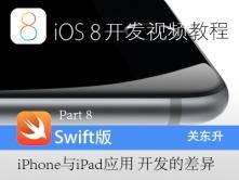 iOS8开发视频教程-Part 8:iPhone与iPad应用开发的差异视频课程