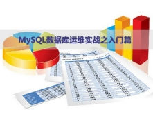 MySQL数据库运维实战视频课程之入门篇