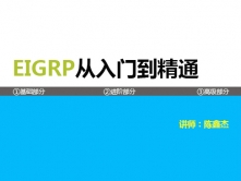 EIGRP从入门到精通视频课程【CCIE魔鬼训练营高级路由课程】