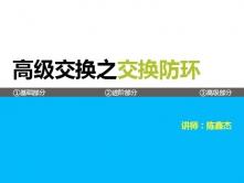 【CCIE魔鬼训练营高级交换防环专题视频课程】 陈鑫杰主讲