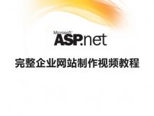 ASP.NET实例视频教程,实战开发企业网站视频教程