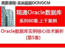 Oracle数据库实例核心技术解析_超越OCP精通Oracle视频教程培训05